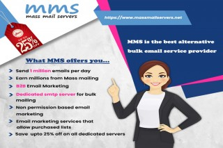 Mass Mail Servers is the best Alternative for online smtp server