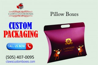 Significance of Using Pillow Boxes